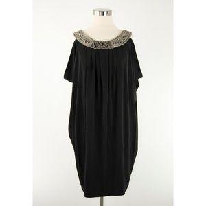 Valerie Bertinelli Black Beaded Dress 6